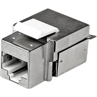 StarTech.com Shielded Cat 6a Keystone Jack - RJ45 Ethernet Cat6a Wall