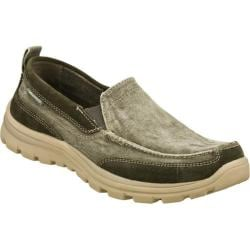 Men's Skechers Relaxed Fit Superior Melvin Charcoal