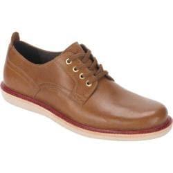 Men's Rockport Eastern Parkway Plain Toe Low Caramel Leather
