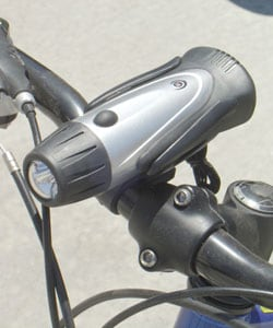 SpareHand 2-in-1 Bike Light / Flashlight (3 LED)