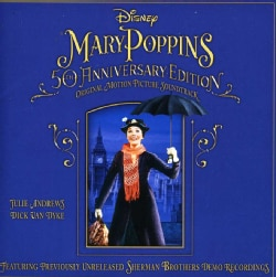 MARY POPPINS 50TH ANNIVERSARY EDITION SOUNDTRACK - MARY POPPINS 50TH ANNIVERSARY EDITION SOUNDTRACK 12105653