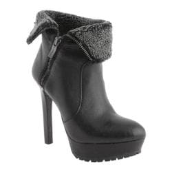 Women's BCBGeneration Willow 2 Black Soft Tumbled Shearling