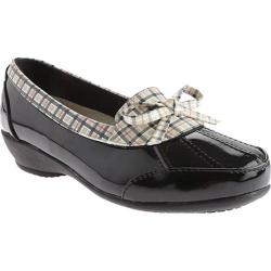 Women's Beacon Shoes Rainy Black Plaid Polyurethane