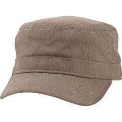 Men's Ben Sherman Herringbone Military Cap Sand