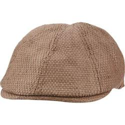 Men's Ben Sherman Straw Driving Cap Chocolate