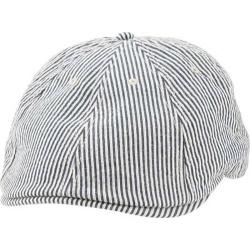 Men's Ben Sherman Stripe Driving Cap Staples Navy