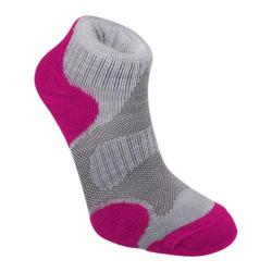 Women's Bridgedale CoolFusion Multisport (2 Pairs) Grey/Raspberry