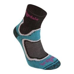 Women's Bridgedale CoolFusion RUN Speed Trail (2 Pairs) Turquoise
