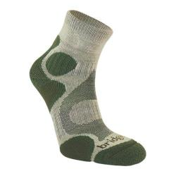 Women's Bridgedale CoolFusion Trail Diva (2 Pairs) Stone/Sage