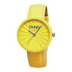 Crayo CR1503 Yellow Leather/Yellow