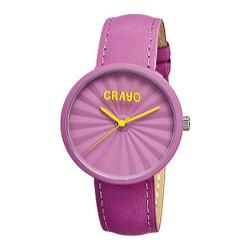 Crayo CR1508 Fuchsia Leather/Fuchsia