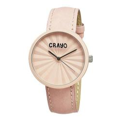 Crayo CR1509 Coral Leather/Coral