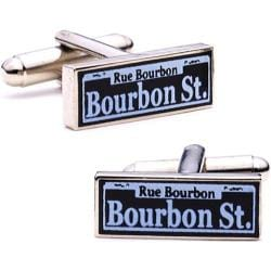 Men's Cufflinks Inc Bourbon Street Purple