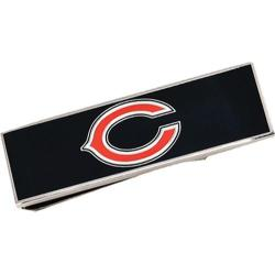 Men's Cufflinks Inc Chicago Bears Cufflinks and Money Clip Gift Set Navy/Orange 14536456