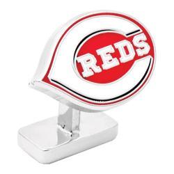 Men's Cufflinks Inc Cincinnati Reds Cufflinks Red