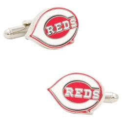 Men's Cufflinks Inc Cincinnati Reds Logo Cufflinks Red