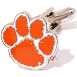 Men's Cufflinks Inc Clemson Tigers Orange/White