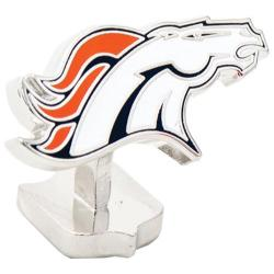 Men's Cufflinks Inc Denver Broncos Cufflinks Orange/Navy 14536585
