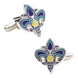 Men's Cufflinks Inc New Orleans Hornets Cufflinks Purple 14536994