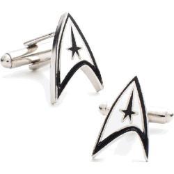 Men's Cufflinks Inc Star Trek Black/White 14537477