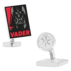 Men's Cufflinks Inc Star Wars Darth Vader Pop Art Poster Cufflinks Red/Black