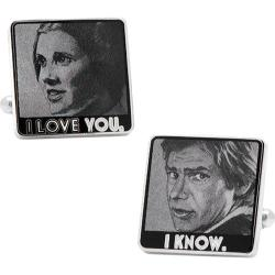 Men's Cufflinks Inc Star Wars I Love You I Know Cufflinks Multi