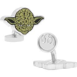 Men's Cufflinks Inc Star Wars Yoda Typography Cufflinks Multi 14537557