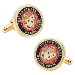 Men's Cufflinks Inc US Marine Corps Cufflinks Multi