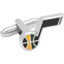 Men's Cufflinks Inc Utah Jazz Cufflinks Blue