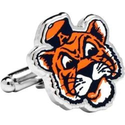 Men's Cufflinks Inc Vintage Auburn University Tigers Cufflinks Navy/Orange 14537781