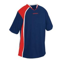 Men's Diadora Serie A Jersey Navy/Red/White