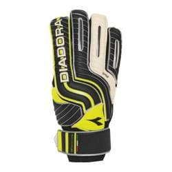 Children's Diadora Stile Jr Glove Black/White/Yellow