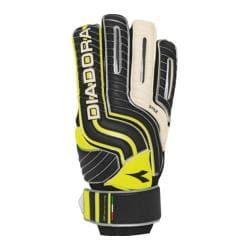 Children's Diadora Stile Jr Glove Black/White/Yellow