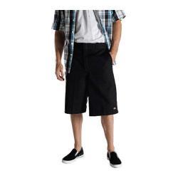 Men's Dickies 13in Loose Fit Twill Stripe Multi-Pocket Work Short Black