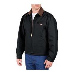 Men's Dickies Blanket Lined Duck Jacket Tall Black