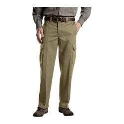 Men's Dickies Relaxed Straight Fit Cargo Work Pant 32in Inseam Desert Sand