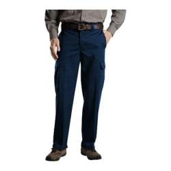Men's Dickies Relaxed Straight Fit Cargo Work Pant 34in Inseam Dark Navy