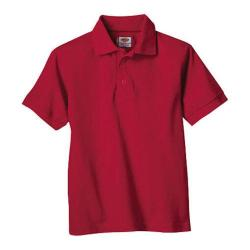 Men's Dickies Short Sleeve Pique Polo English Red