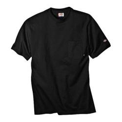 Men's Dickies Short Sleeve Pocket T-Shirt w/ Wicking Tall Black