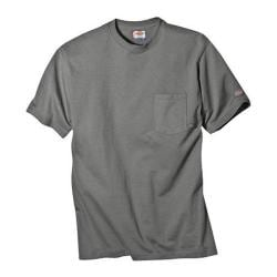 Men's Dickies Short Sleeve Pocket T-Shirt w/ Wicking Tall Medium Grey