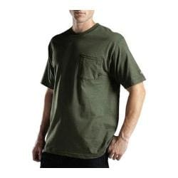 Men's Dickies Short Sleeve Pocket T-Shirt w/ Wicking Tall Moss