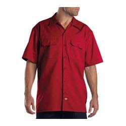 Men's Dickies Short Sleeve Work Shirt English Red