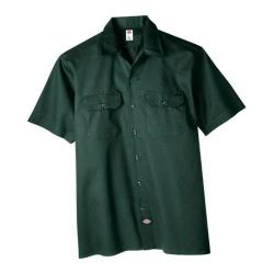 Men's Dickies Short Sleeve Work Shirt Hunter Green
