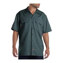 Men's Dickies Short Sleeve Work Shirt Lincoln Green