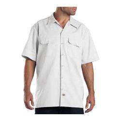 Men's Dickies Short Sleeve Work Shirt White