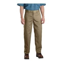 Men's Dickies Slim Straight Fit Work Pant 32in Inseam Maple