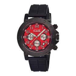 Men's Equipe Tritium Tube 408 Black Rubber/Red