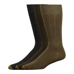 Men's Gold Toe Hampton 2054S (12 Pairs) Multi Pack (Olive/Brown/Black) 14557634