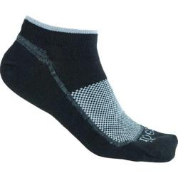 Ibex Low Cut Sock - Set of 2 Black/Gail Grey