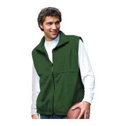 Men's Inner Harbor Full Zip Vest Fleece Hunter Green